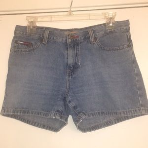 Tommy Light distressing Jean Shorts 7